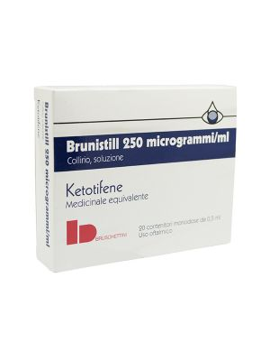 BRUNISTILL 250 MCG/ML COLLIRIO - 20 CONTENITORI DA 0,5 ML
