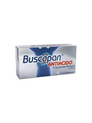 BUSCOPAN ANTIACIDO 10 COMPRESSE EFFERVESCENTI DA 75MG