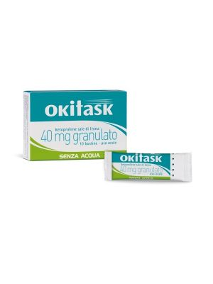 OKITASK 10 BUSTINE OROSOLUBILI 40MG