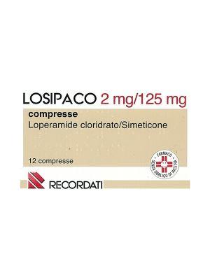 LOSIPACO 2MG /125MG DA 12 COMPRESSE