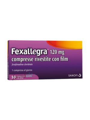 FEXALLEGRA 10 COMPRESSE RIVESTITE DA 120MG