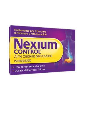 NEXIUM CONTROL 7 COMPRESSE GASTRORESISTENTI DA 20MG