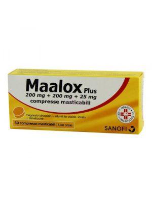 MAALOX PLUS 30 COMPRESSE MASTICABILI