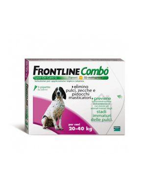 FRONTLINE COMBO 3 PIPETTE PER CANI 20-40KG