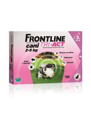 FRONTLINE TRI-ACT 3 PIPETTE PER CANI 2-5KG