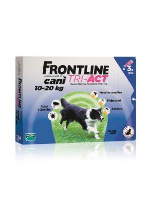 FRONTLINE TRI-ACT 3 PIPETTE 2ML PER CANI 10-20KG