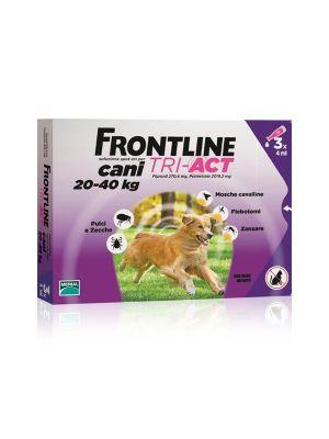 FRONTLINE TRI-ACT 3 PIPETTE 4ML PER CANI 20-40KG