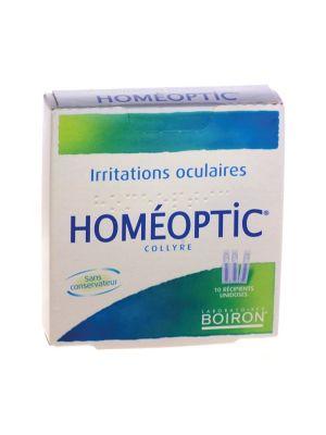 HOMÉOPTIC COLLIRIO 10 FLACONCINI MONODOSE DA 0.4ML