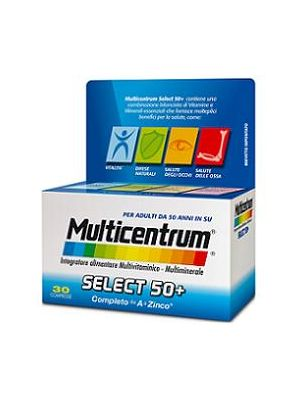 MULTICENTRUM SELECT 50+ CONFEZIONE DA 30 COMPRESSE