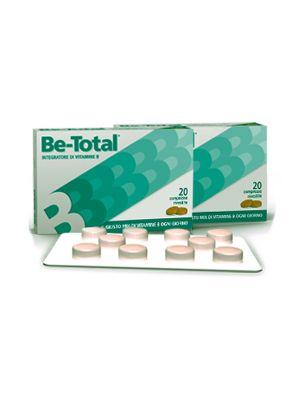 BETOTAL 20 COMPRESSE - INTEGRATORE DI VITAMINE (B2, B3, B5, B6, B12)