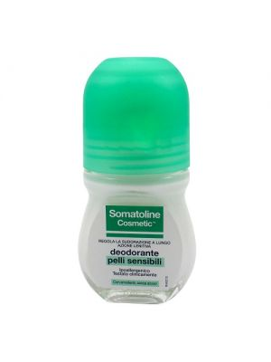 SOMATOLINE COSMETIC DEODORANTE PELLI SECCHE ROLL-ON