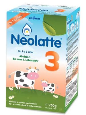 NEOLATTE 3 BIO POLVERE DA 700G