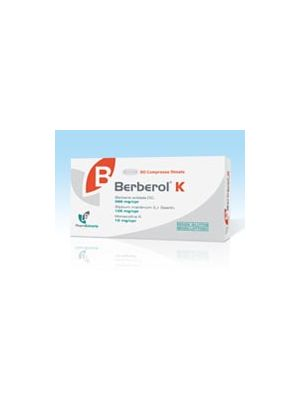 BERBEROL K - 30 COMPRESSE