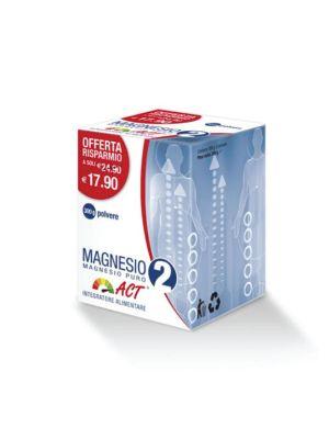 MAGNESIO 2 ACT - MAGNESIO PURO DA 300G