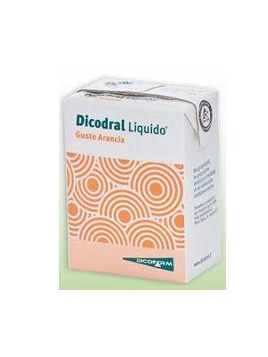 DICODRAL LIQUIDO GUSTO ARANCIA 3 BRICK DA 200ML