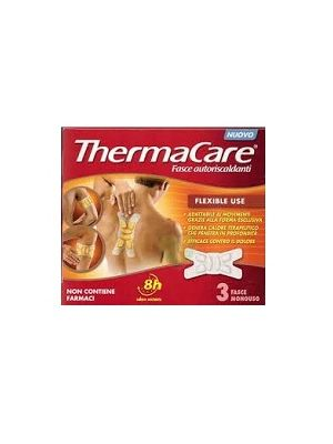 THERMACARE FLEXIBLE USE - 3 FASCE AUTORISCALDANTI
