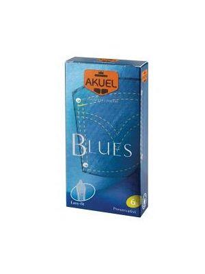 AKUEL BY MANIX BLUES 6 PEZZI