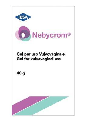 NEBYCROM GEL FLACONE 40G