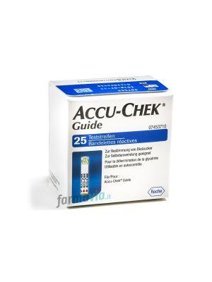 ACCU-CHEK GUIDE 25 STRISCE REATTIVE