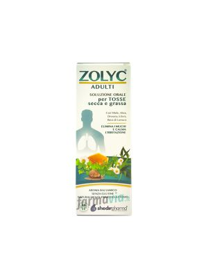 ZOLYC ADULTI SCIROPPO 150ML