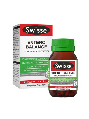 SWISSE ENTERO BALANCE DA 20 CAPSULE