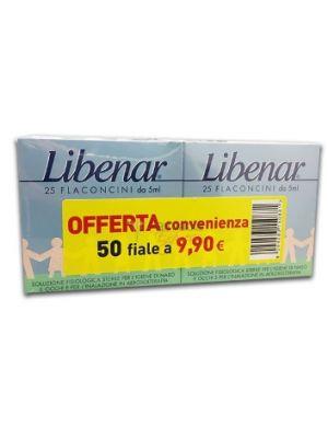 LIBENAR 25+25 FACONCINI DA 5ML