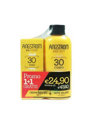 ANGSTROM BIPACCO (LATTE SOLARE VISO SPF 30+ / CREMA CORPO SPF 30+)