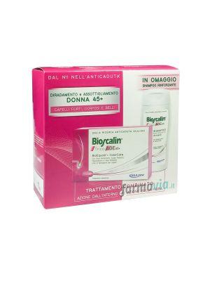 BIOSCALIN TRICOAGE45+ DA 30 COMPRESSE + SHAMPOO IN OMAGGIO